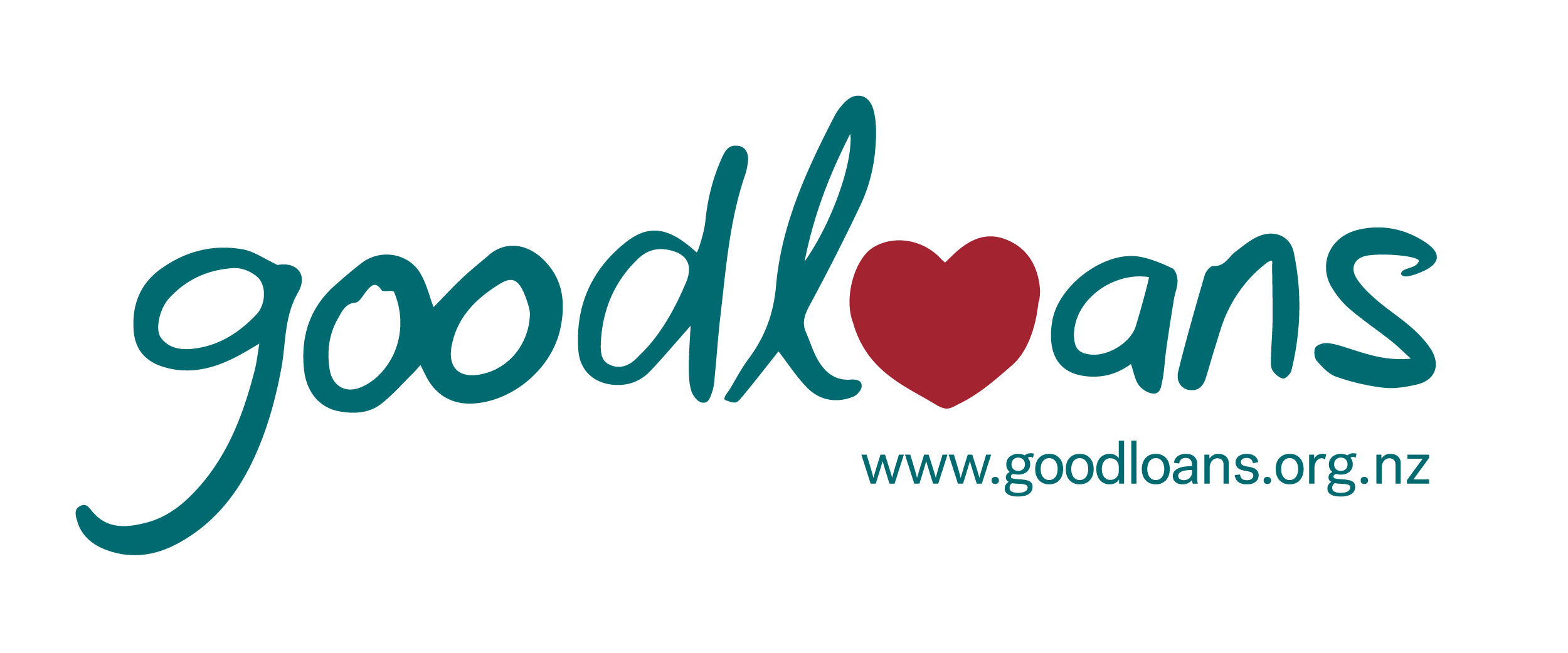Good Loans logo with a heart