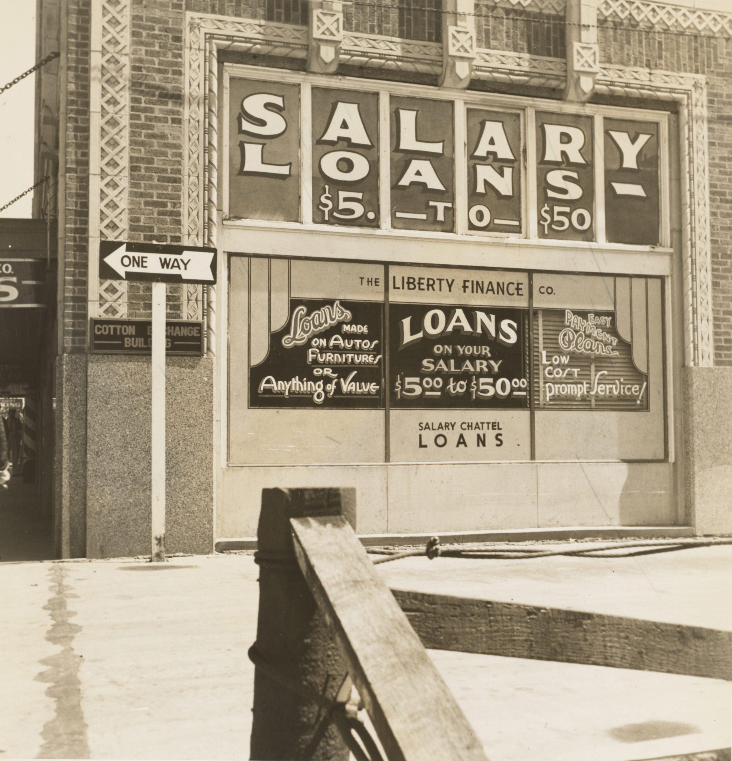 On old Salary Loan company